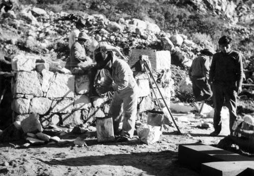 Peru 72, práce na zdi
