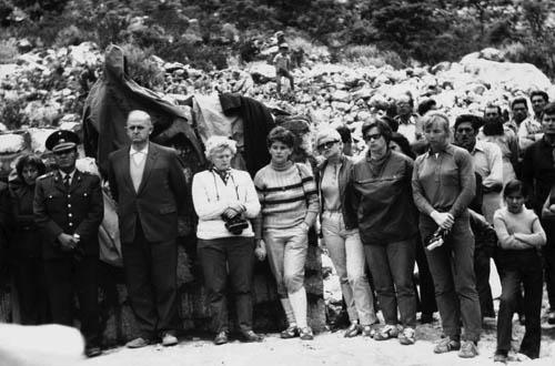 Peru 72, před odhalením památníku