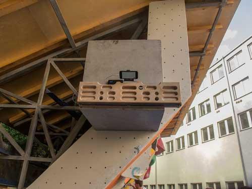 Zlagboard připraven na bedýnce vítěze ze stupňů vítezů