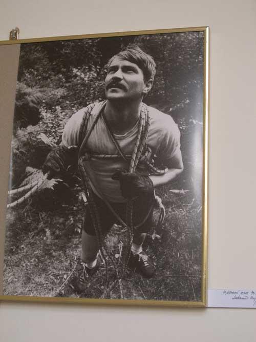 Výstava fotek Karla Vlčka: Luboš Oujezdský zamlada