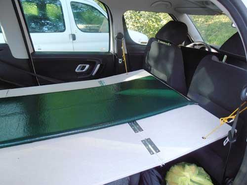 Roomster postel - nainstalováno