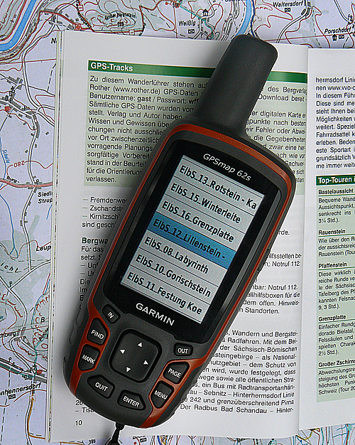 Elbsandsteingebirge - GPS