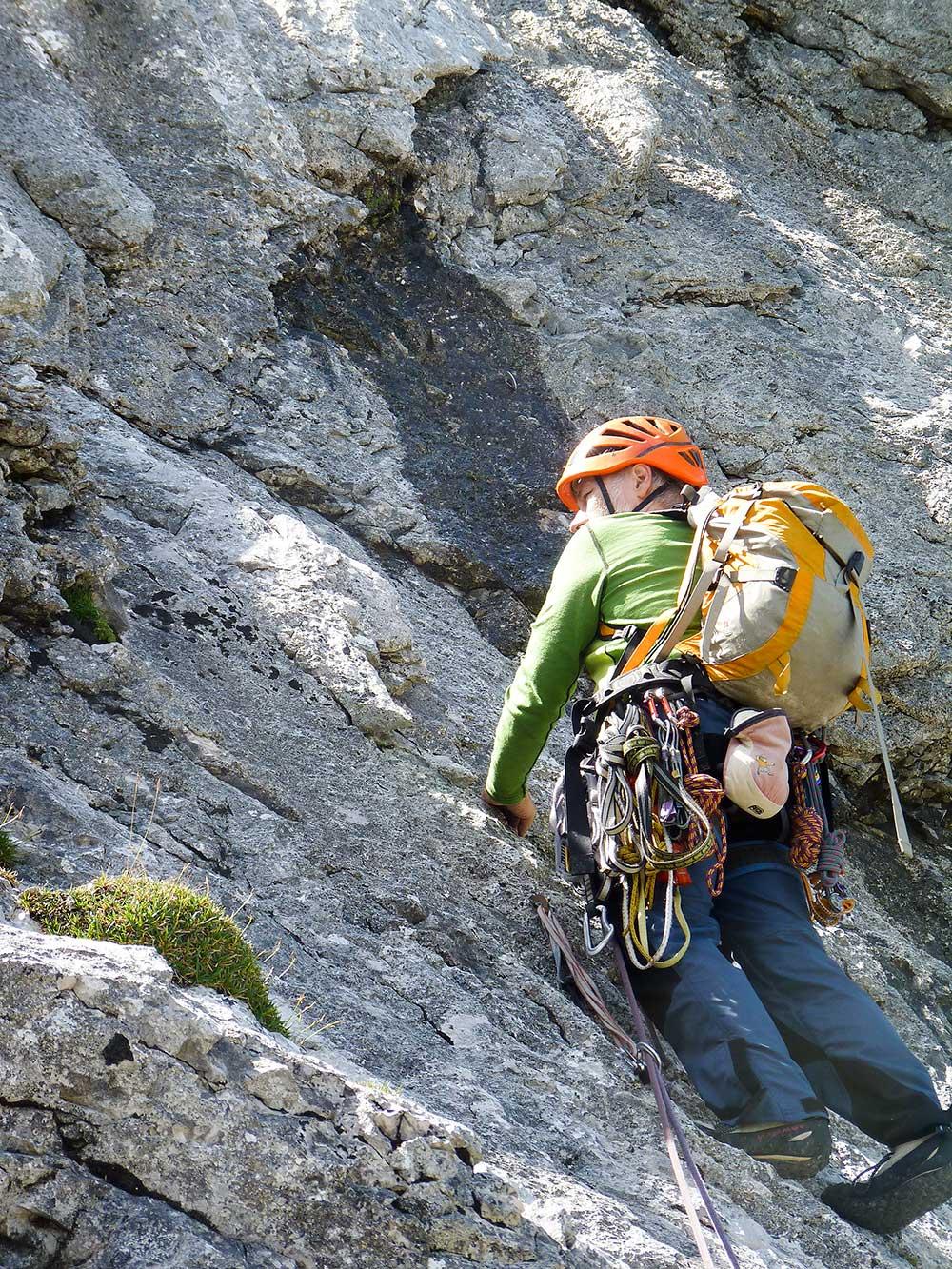Alpspitze,Heimweh, 4. délka