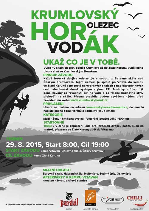 Krumlovský horák, plakát