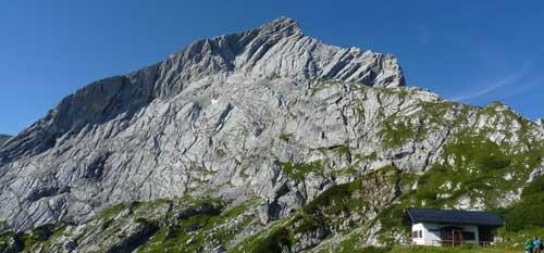 Alpspitze, severní stěna