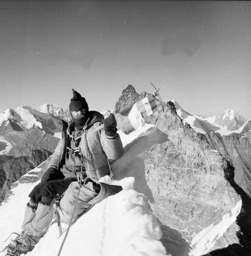 Polda Páleníček na vrcholu Baghírati III