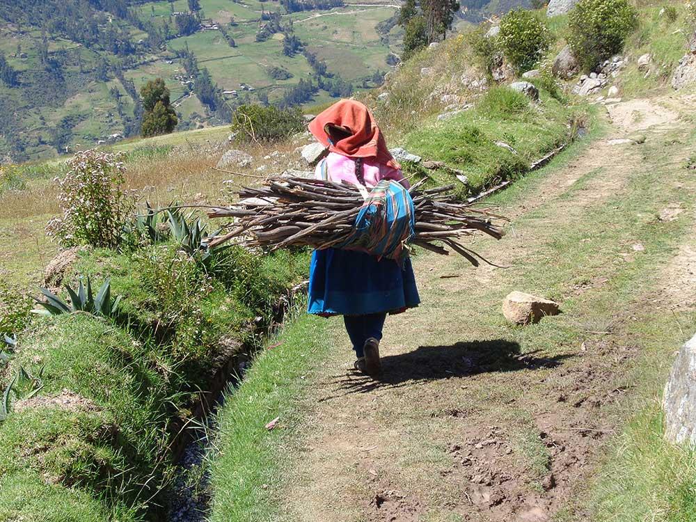 Na peruánské vesnici
