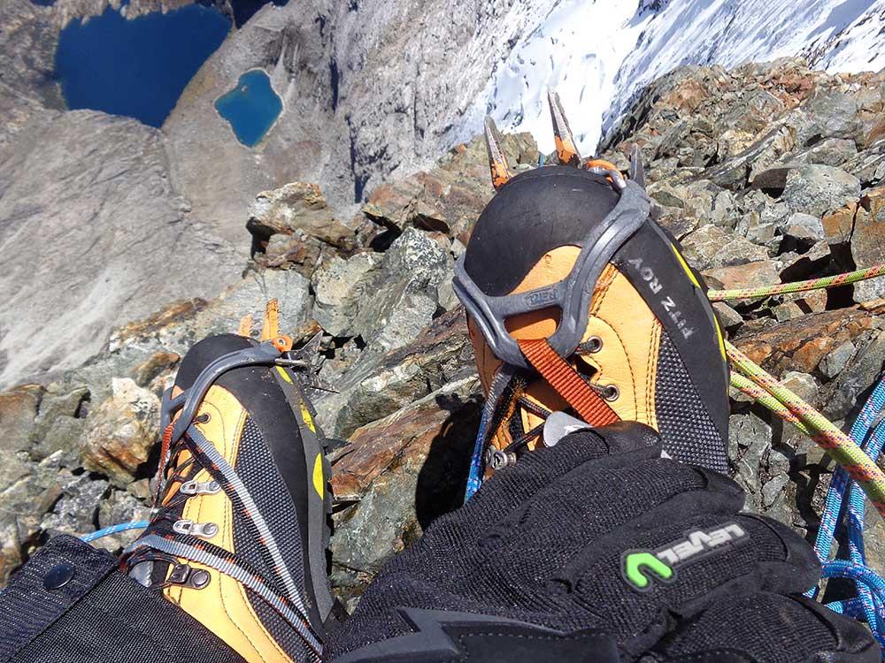 Zamberlan Fitz Roy na Nevado Churup