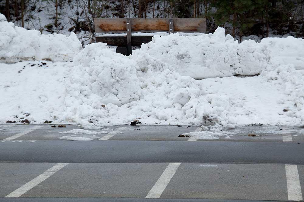 Bariéra sněhu ve Švajcu