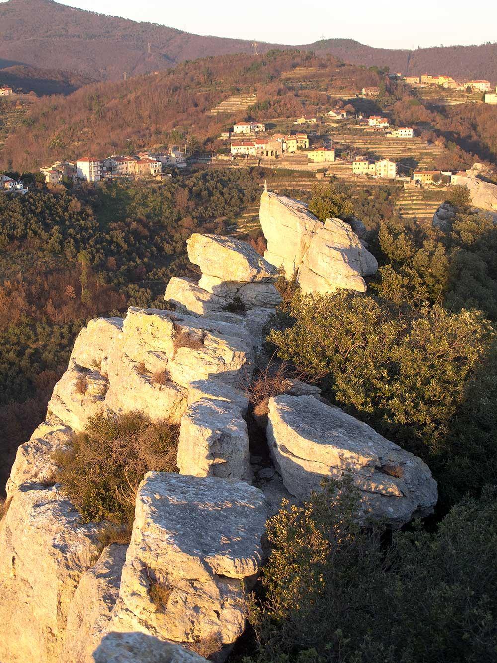 na vrcholu Monte Cucco