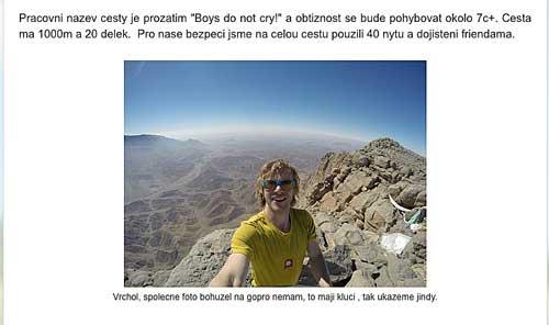 Blog Ondry Beneše a Edity Vopatové