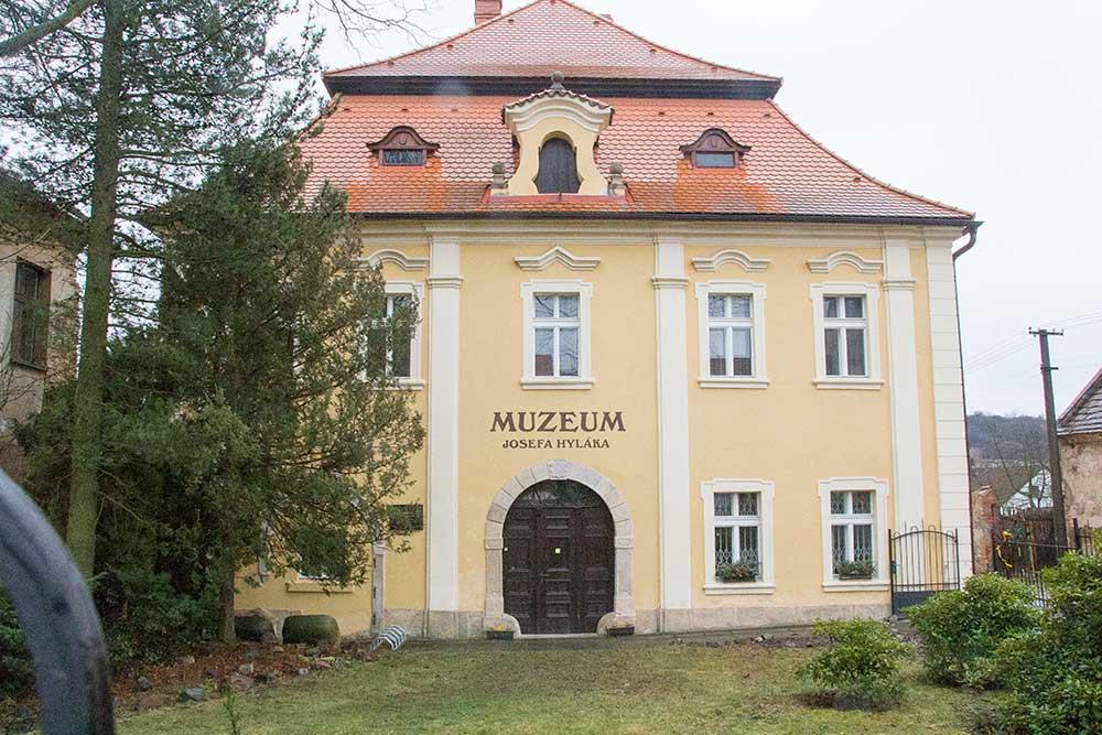 Muzeum Josefa Hyláka, kde je výstava