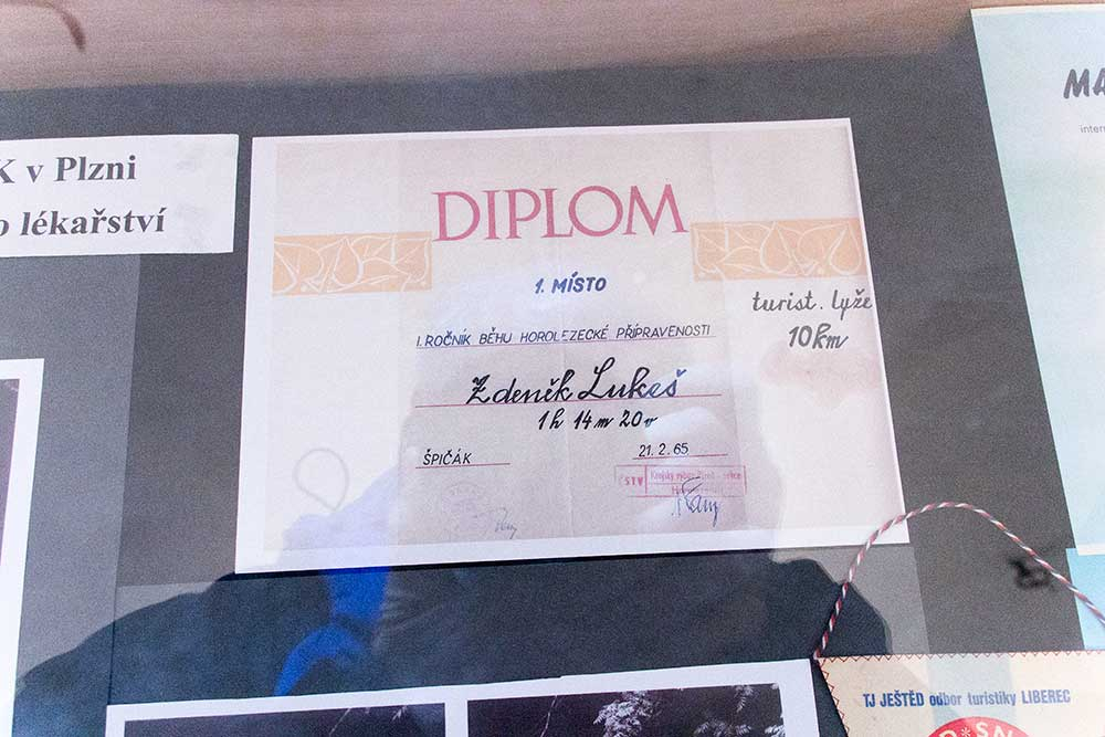 První Zdeňkův diplom