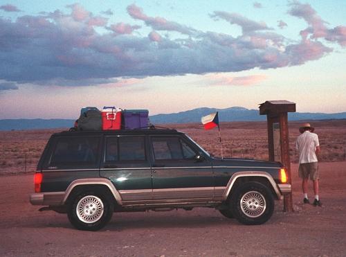 CZ US expedice Colorado Utah 2003
