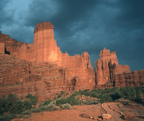 Fisher Towers Utah 2003