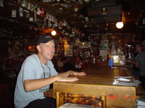 Allen Bucksnort Saloon Sphinx Park Colorado 2003