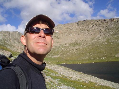 Allen jako zpupný regista, Mount Evans, Colorado 2007