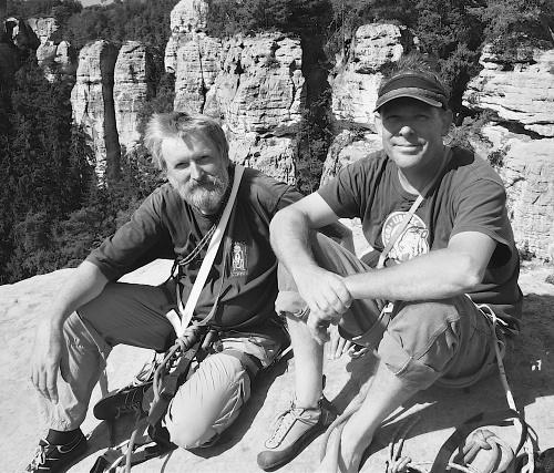 Pohoda na vrcholu Kapelníka - LB Bílý tygr Allen a Chroust II září 2011