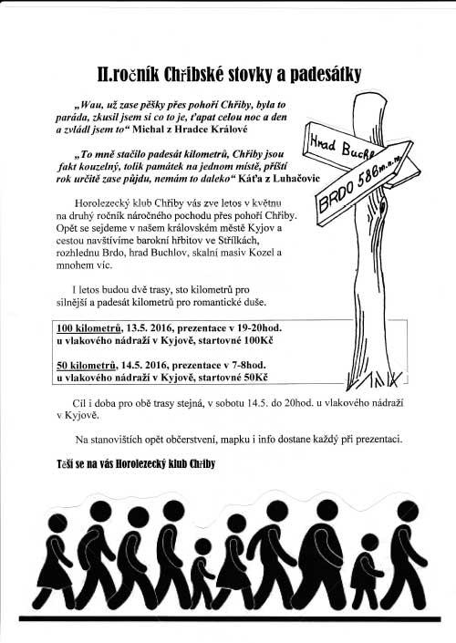 Plakát Chřiby