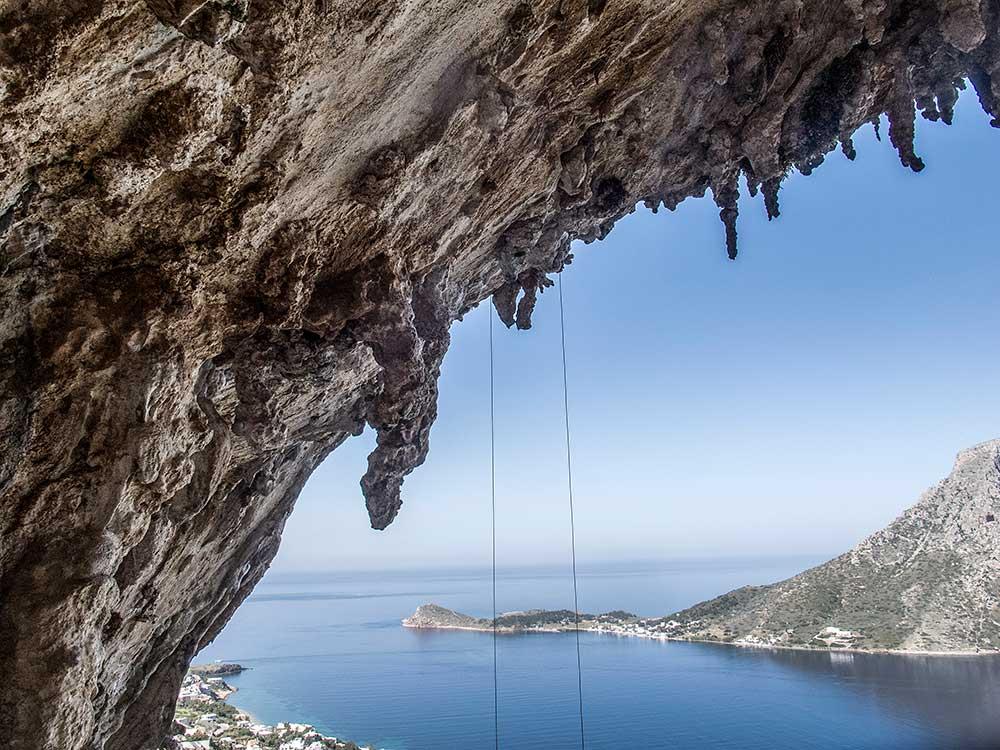 Krápníky jsou jedinečným znamením Kalymnosu