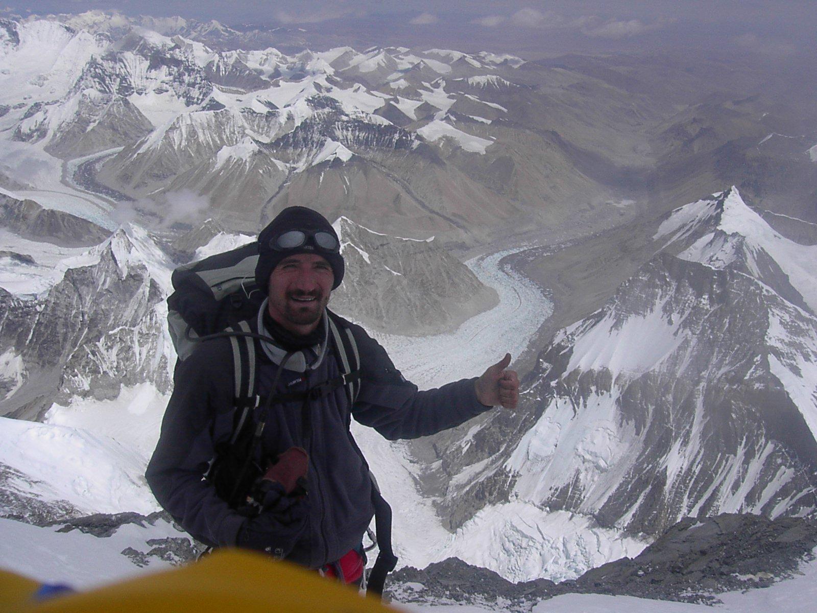 Snímek z vrcholového hřebene, 19. 8. 2005, 13:31:19