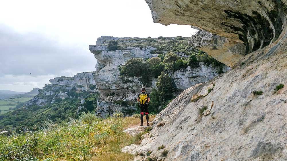 Výhľady na skalný masív Giorré