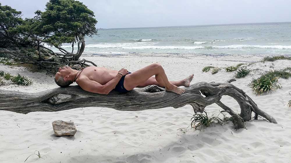Relax na pláži, Vlado to skúsil na chameleóna