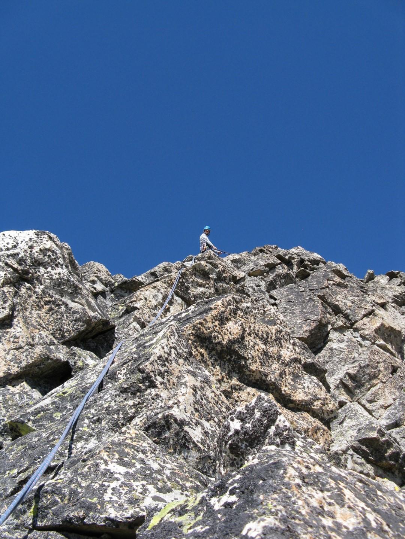 Via dei Lupetti, dolez na vrchol