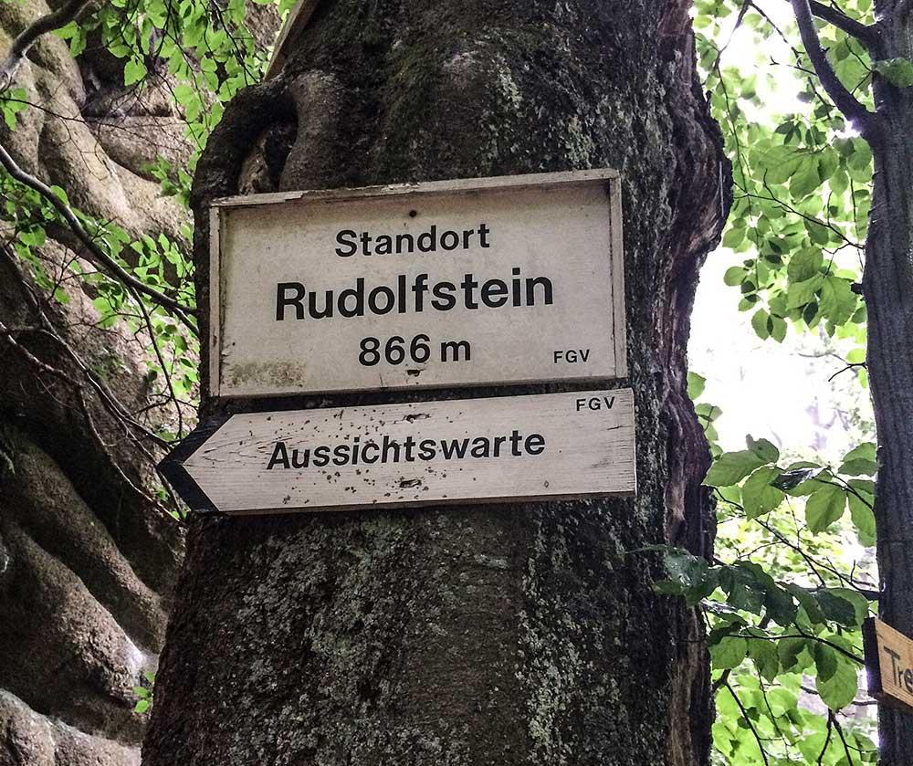 Směrovka na rudolfstein