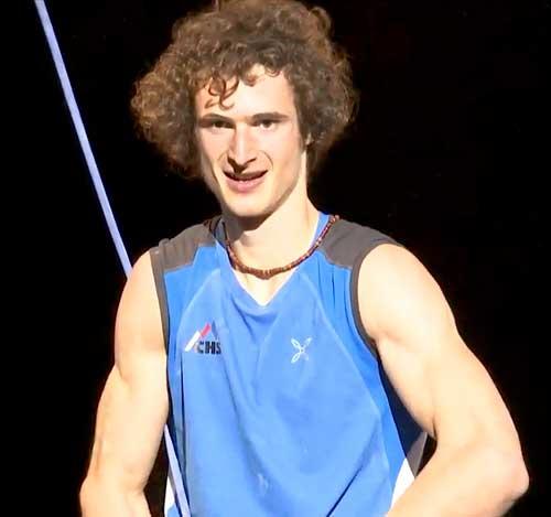 Adam Ondra, nejlepší sportovní lezec světa, mistr a vicemnistr světa 2016