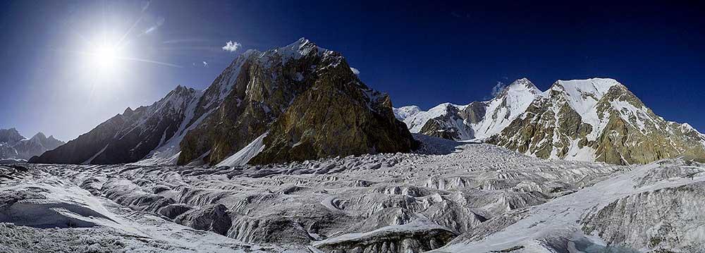 Ledovec Abruzzi se svou Géčkovou dominantou…