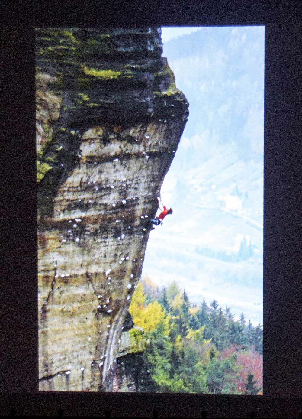 Ondra Beneš o lezení v Labáku