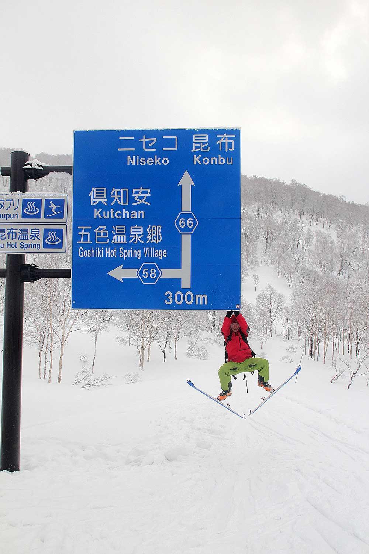 Japonsko, skialpinismus 1