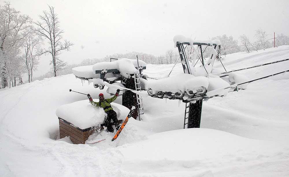 Japonsko, skialpinismus 3
