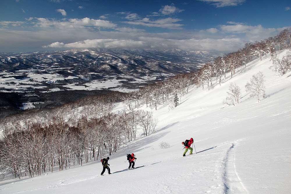Japonsko, skialpinismus 4