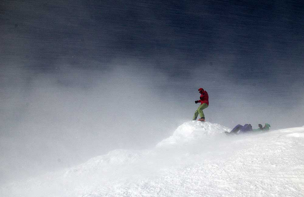 Japonsko, skialpinismus 5