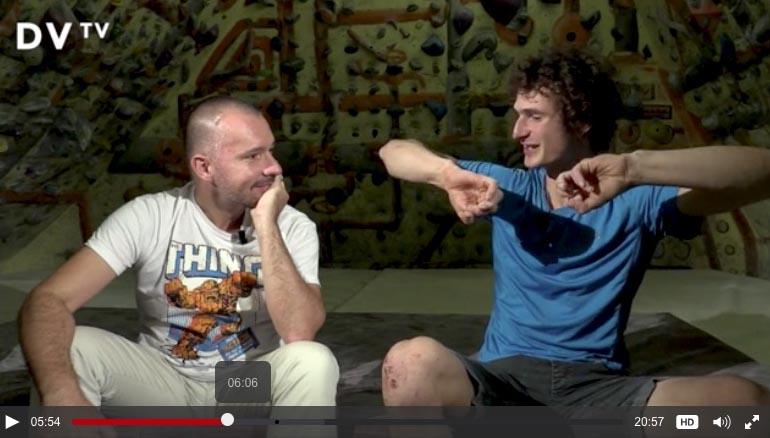 Adam Ondra v rozhovoru s Martinem Veselovským