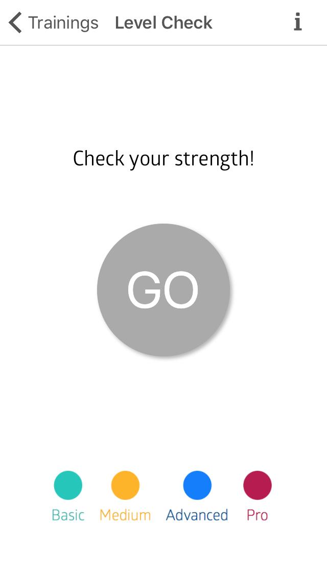 Test výkonnosti vám řekne, jakou úroveň tréninku si zvolit.
