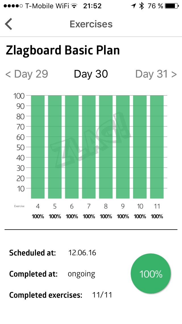 Statistika plnění 30. dne