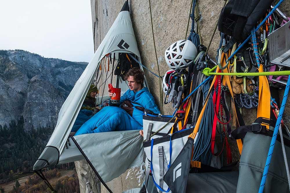 Tábor ve stěně