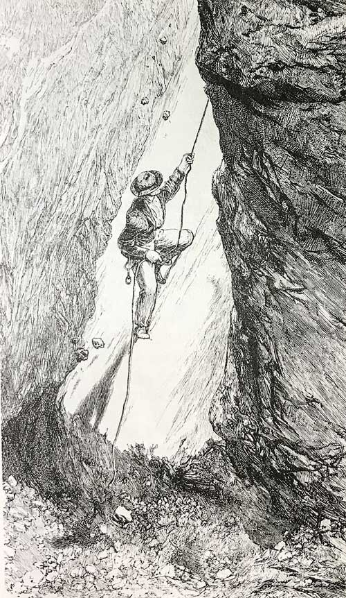 Historická lezecká technika