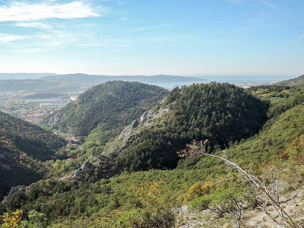 Trieste (Terst) od skal