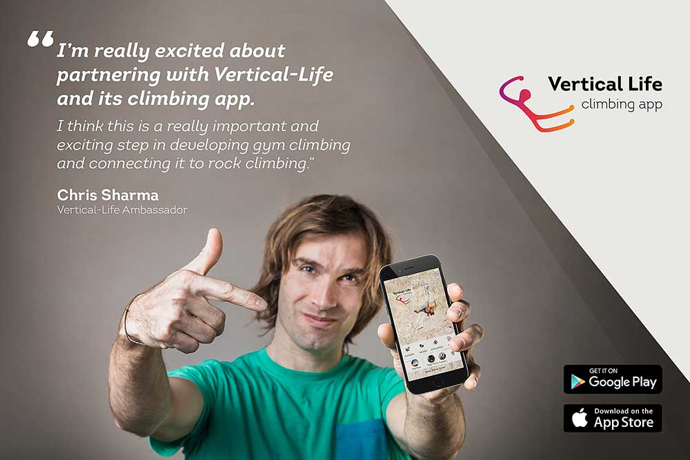 Chris Sharma, ambassador Vertical Life
