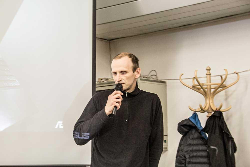 VH 2017, Tomáš Hornych a problém s lezci a prvovýstupci mimo ČHS