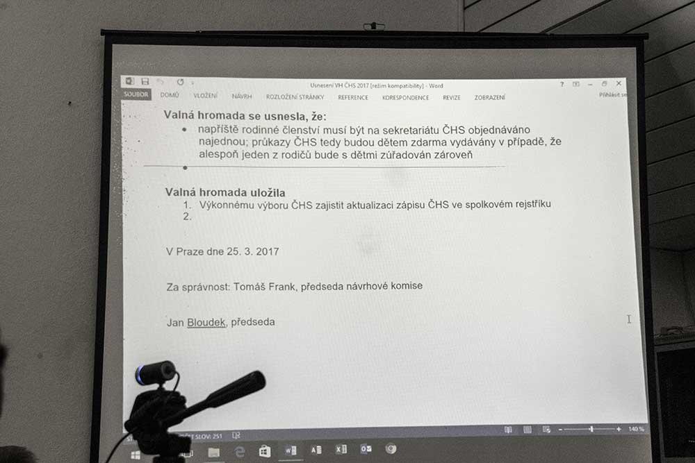 VH 2017 - usnesení