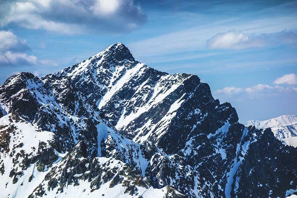 Výhled na poslední osmý vrchol - Krivaňo Grando