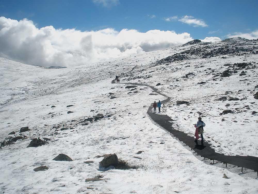 cestou na Mt.Kosciuszko