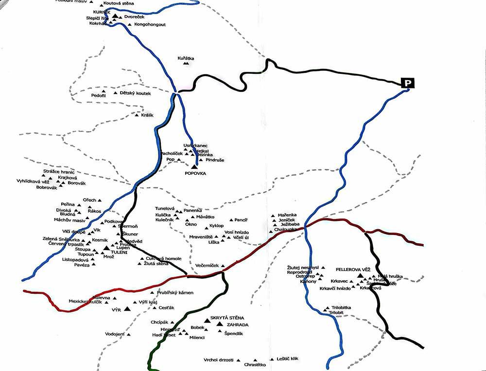 Mapa skal