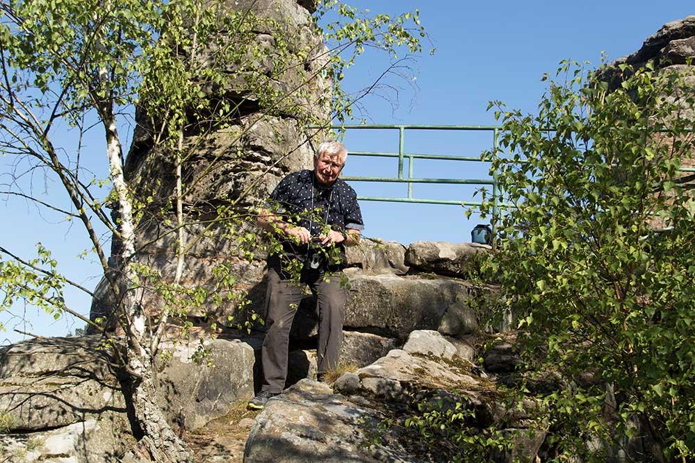 Pavel Veselý na Ervínově hradu