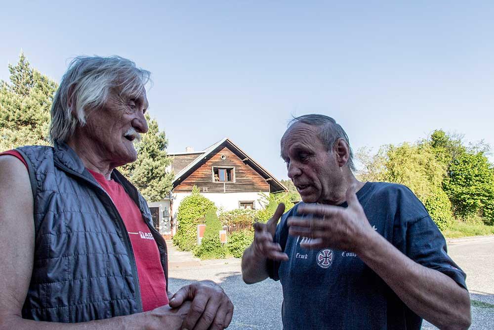 Jan Drobek Krch a Lubor Zalabák